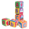 Melissa & Doug Soft ABC Blocks (Set of 6)