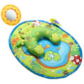 Tummy Time Fun Frog Pillow & Mat