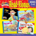 Dr. Maggie's Phonics Readers Read-Along CD for Books 1-4