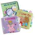 TAGGIES™ Cloth Books (Set of 3)