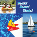 Boats! Boats! Boats! - Board Book