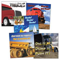 Things That Go Board Books (Set of 5)
