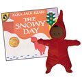 The Snowy Day Plush Doll and Book Set