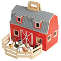 Fold and Go Mini Barn by Melissa & Doug