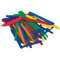 Colored WoodCraft Craft Sticks