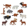 North American Wildlife Minis (Set of 12)