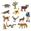 Desert Animal Minis (Set of 12)