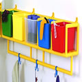 "5 Cubbie Wall Storage Only (63""W x 12""D x 17""H)"