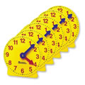 "4"" Geared Mini Clocks - Set of 6"