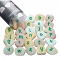 Alphabet Pebbles Expanded Set (Lowercase)