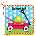Find the Ball - Cloth Book