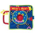 What's Red? Cloth Book