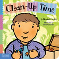Clean Up Time - Board Book