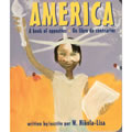 America: A Book of Opposites - Board Book