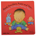 Head, Shoulders, Knees, and Toes... - Bilingual Board Book