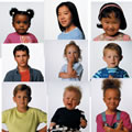 Children's Faces Poster Set (Set of 15)