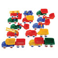 Bigger Vehicle Fun Set (15 pieces)