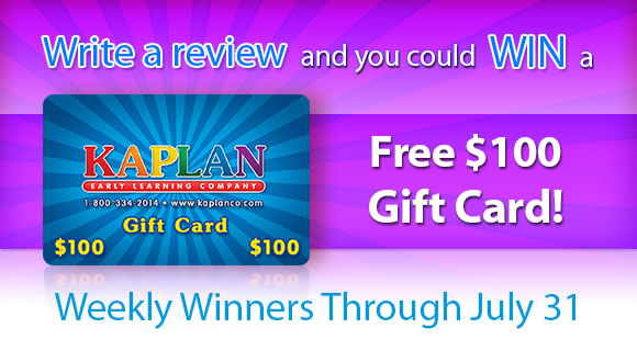 Write a review for a $100.00 Kaplan Gift Card